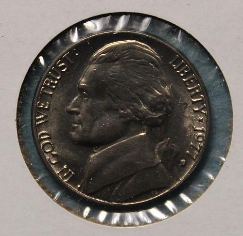 1977 D Jefferson Nickel