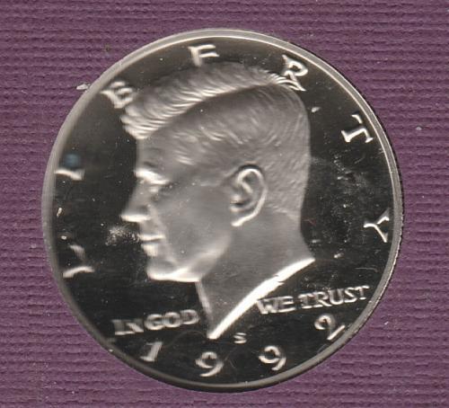 1992 S Kennedy Half Dollars - #2