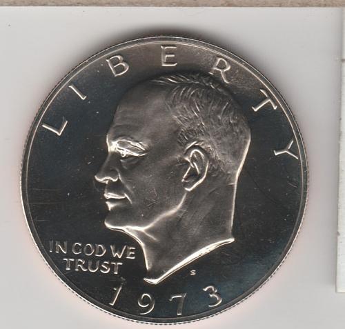 1973 S Eisenhower Dollars - #2