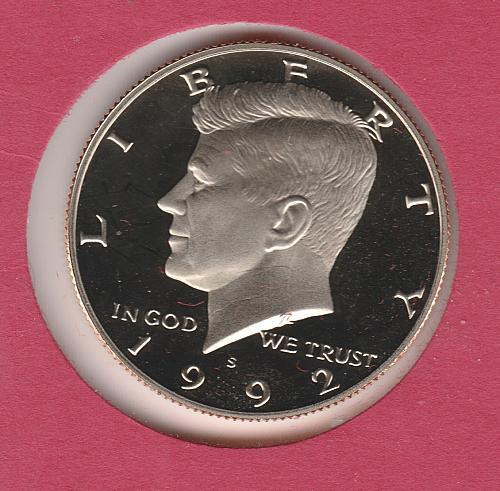 1992 S Kennedy Half Dollars - #3