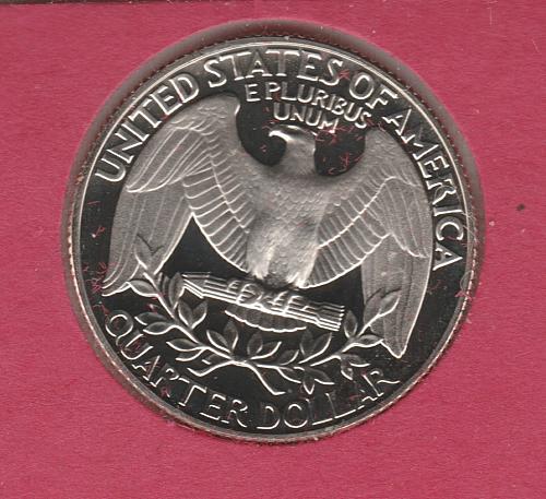 1990 S Washington Quarters - #3
