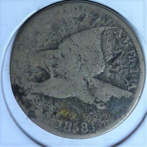 1858 LL FILLER COIN Flying Eagle  Cent  ( 1034