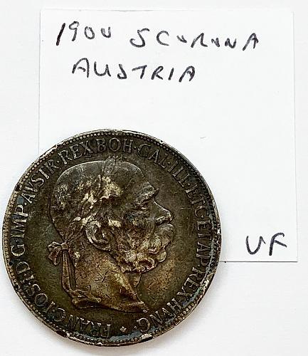 1900 5 Corona - Austria