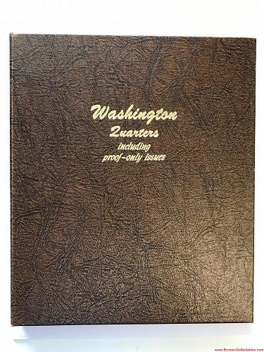 Dansco Album   * Washington Quarters including proof-only issues.