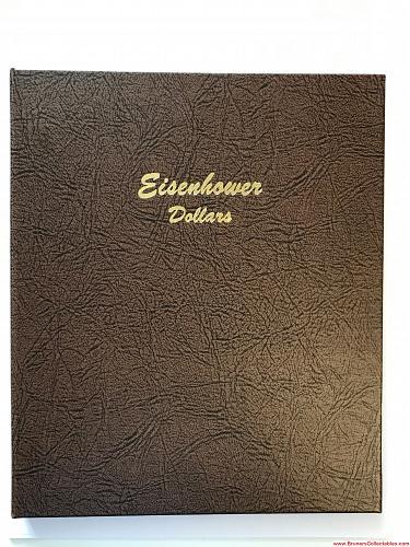 Dansco Album   *  Eisenhower Dollars