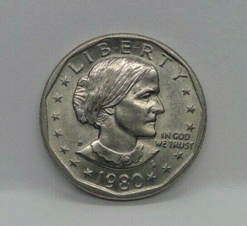 United States 1980 D Susan B Anthony (SBA) Dollar AU/BU