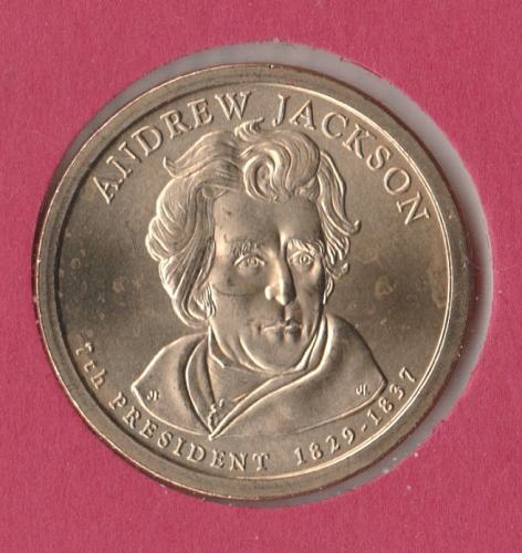 2008 P Presidential Dollars: Andrew Jackson - #3