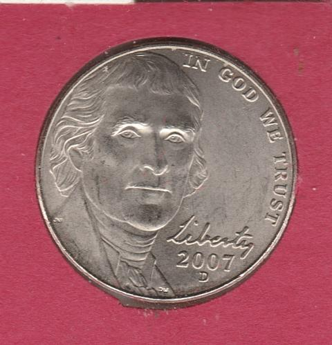 2007 D Jefferson Nickels - #3