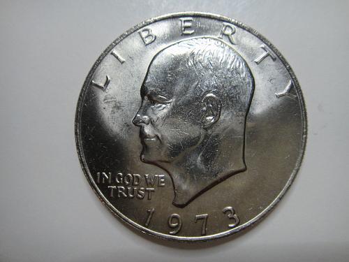 1973 Eisenhower Dollar MS-63 (Choice BU)