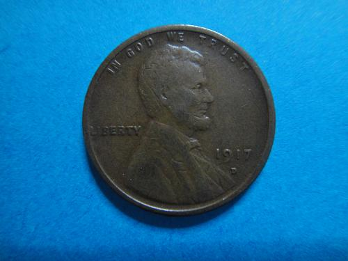 1917-D Lincoln Cent Very Fine-20