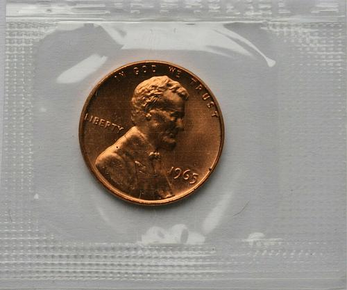 1965  SMS  LINCOLN CENT