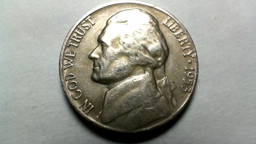 1953 S Jefferson Nickels