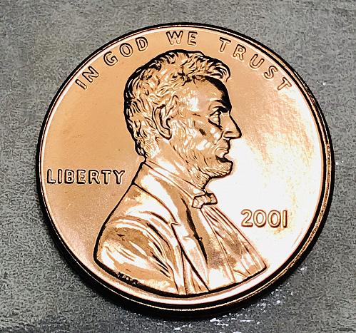 2001 P Uncirculated From Mint Set