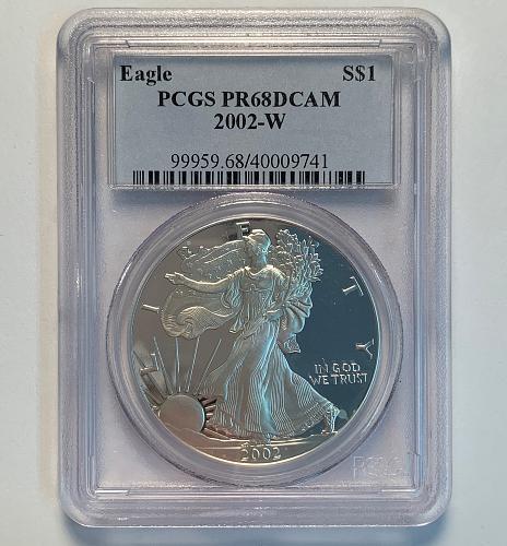 2002-W Silver Eagle Proof