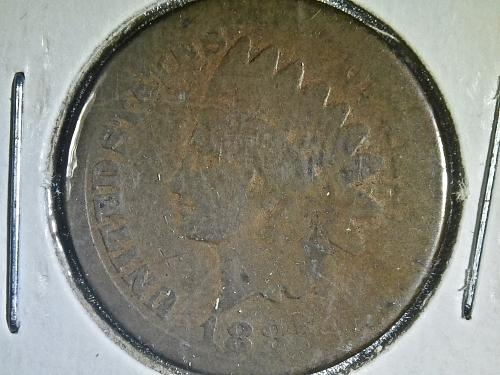 1885 P Indian Head Cent