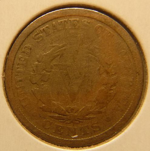 LIBERTY NICKEL 1891 P