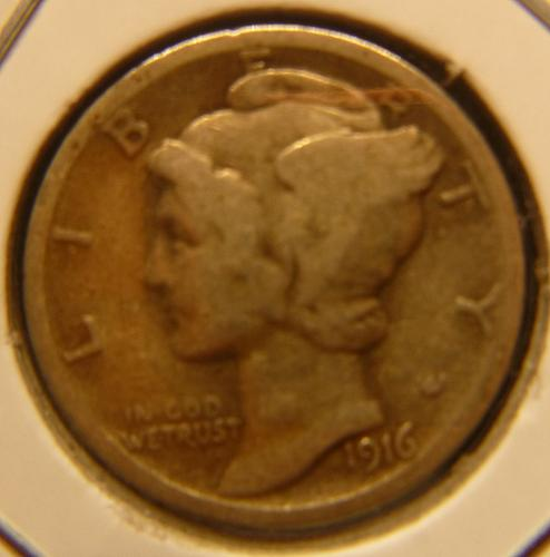 MERCURY DIME GOOD -