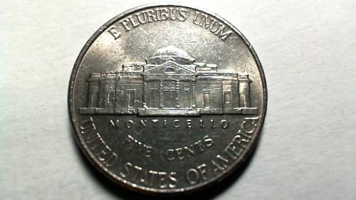 2001 P Jefferson Nickels