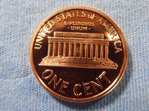 2001 S Proof Lincoln cent, Beautiful coin.