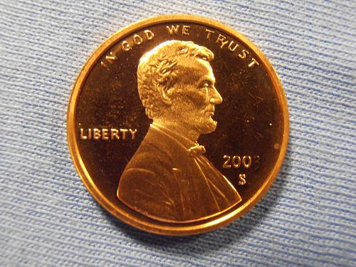 2003 S Proof Lincoln cent, Beautiful coin.