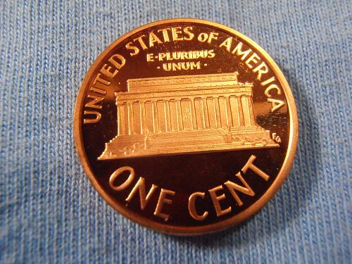 2008 S Proof Lincoln cent, Beautiful coin.