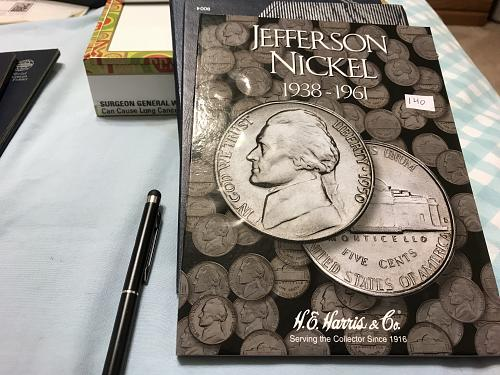 LARGE CENT LINCOLN CENT AND JEFFERSON NICKEL,3 BOOKS