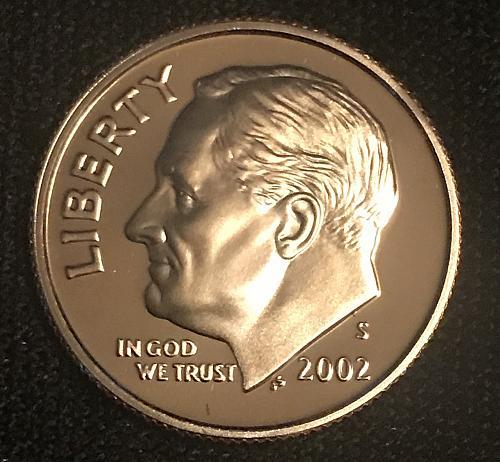 2002 S Proof Roosevelt