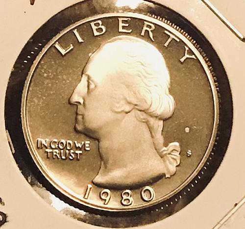 1980 S Proof Washington