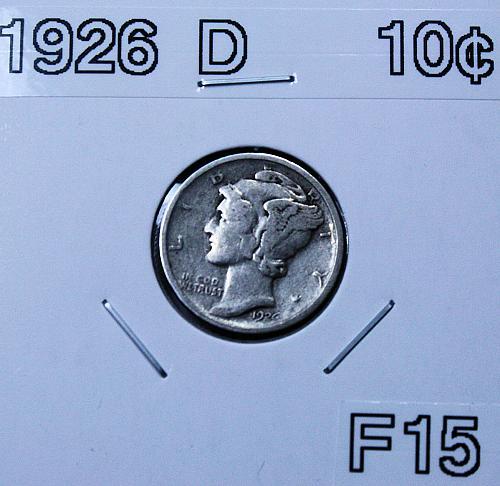 1926 D Mercury Dime