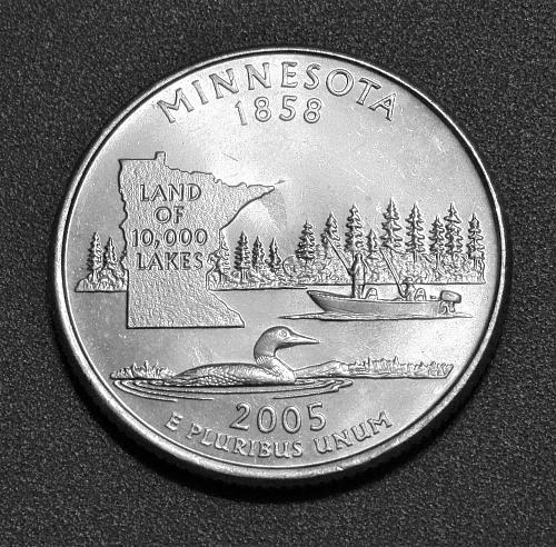 2005-P 25C Minnesota State Quarter