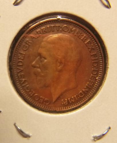 UNITED KINGDOM 1927 1 FARTHING