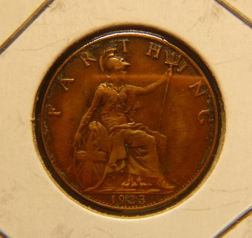 UNITED KINGDOM 1923 1 FARTHING