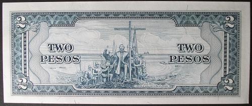 Philippines P134d 2 Pesos UNC63