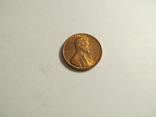 1951-D Lincoln Wheat Cent