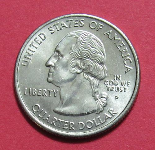 2007-P 25 Cents - Washington State Quarter
