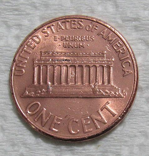 2000-D 1 Cent - Lincoln Memorial Cent - Cheerios Penny