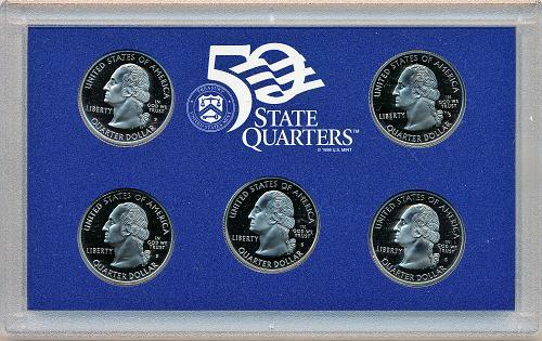 US Mint State Proof Set; 1999S w/CoA