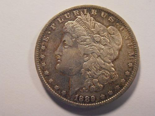 1889 O TOUGH DATE Morgan Silver Dollar -  (89OPKE1)