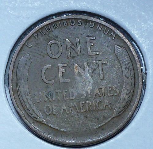 1911-P Very Fine  Lincoln Wheat Cent ( 824B)