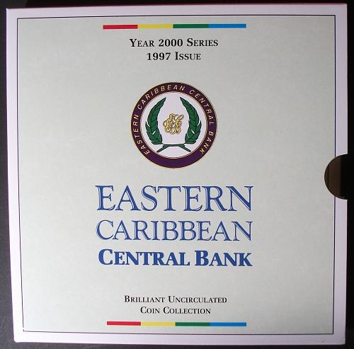 1997 Eastern Caribbean Mint Set