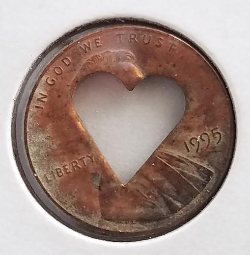 1995 Heart Cent