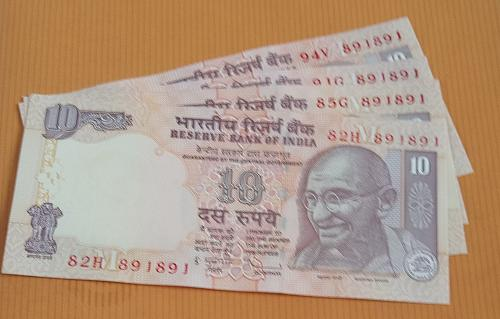 India...4 notes...2009+2010  Each year 2