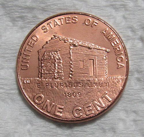 2009 1 Cent - Lincoln Bicentennial Cent - Birth & Early Childhood