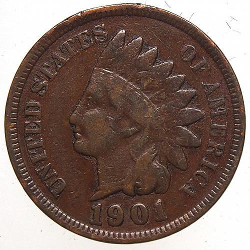 1901 Indian Head Cent #31
