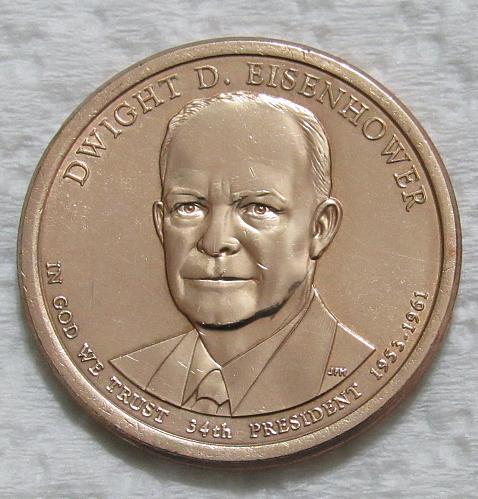 2015-P $1 Dwight D. Eisenhower Presidential Dollar