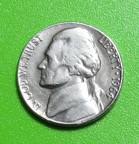 1964-D 5 Cents - Jefferson Nickel