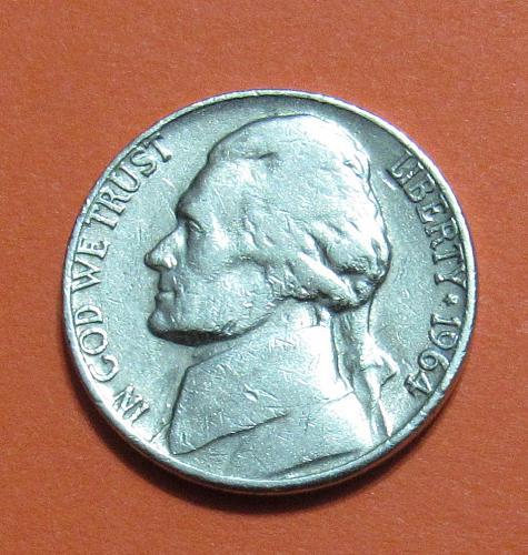 1964-D 5 Cents - Jefferson Nickel