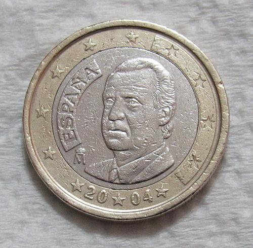 2004 Spain 1 Euro