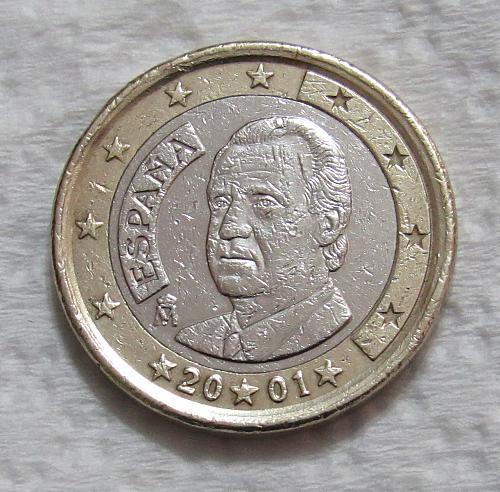 2001 Spain 1 Euro
