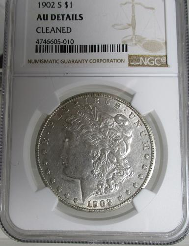 1902 S Morgan Dollar